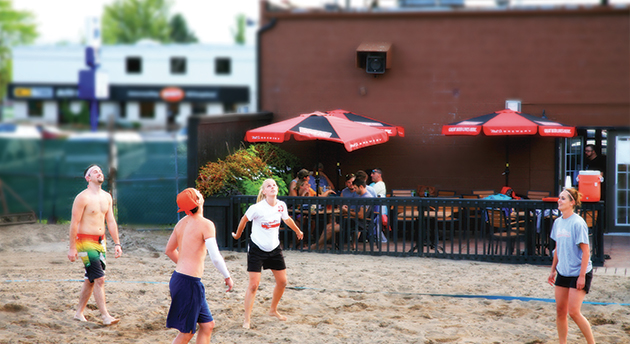 Beach Volleyball Billy's Taphouse Essex Ontario